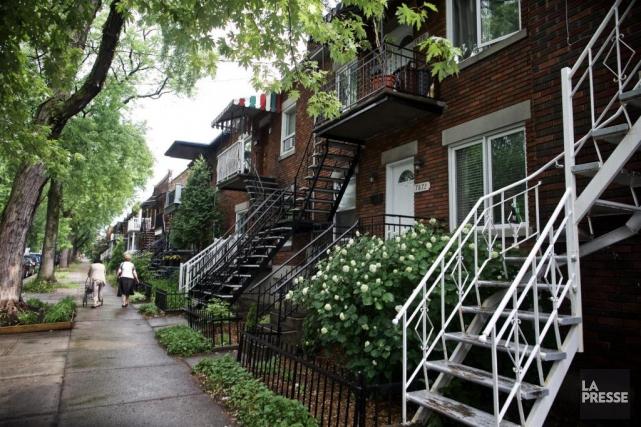 De 2013 à 2016, les maisons à Montréal... (Photo André Pichette, Archives La Presse)