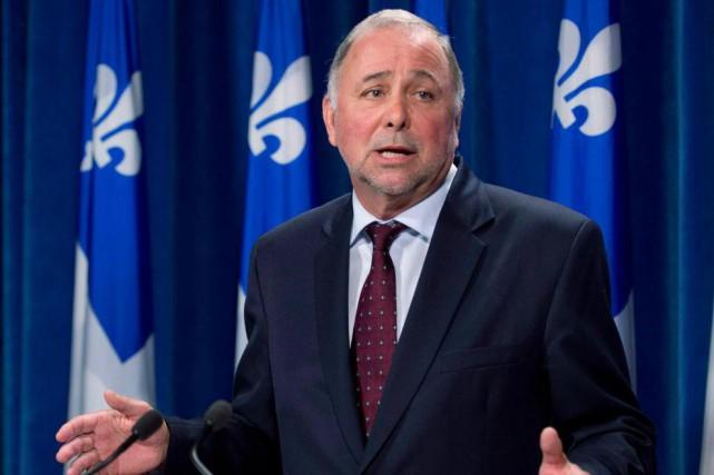 L'ex-ministre Pierre Paradis, qui fait l'objet d'une enquête... (PhotoJacques Boissinot, La Presse canadienne)