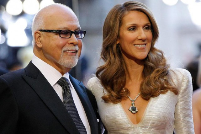 Céline Dion et René Angélil en 2011... (Photo Mario Anzuoni, Archives Reuters)