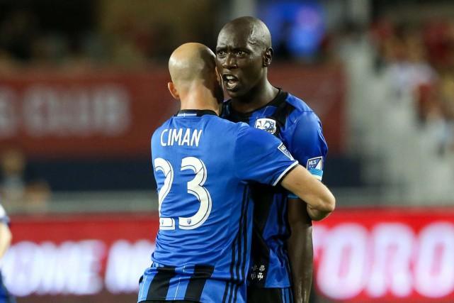 Laurent Ciman et Hassoun Camara devraient évoluer ensemble... (Photo Kevin Sousa, archives USA Today Sports)