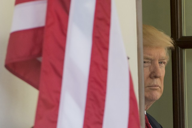 Donald Trump, qui a promis de démanteler la... (Photo SAUL LOEB, AGENCE FRANCE-PRESSE)