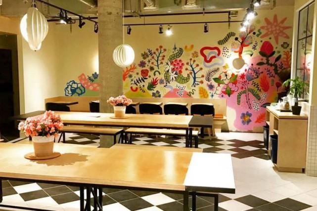 Le nouvel espace revitalisé du Café Saint-Henri, dans... (Photo fournie par Jean-François Leduc)