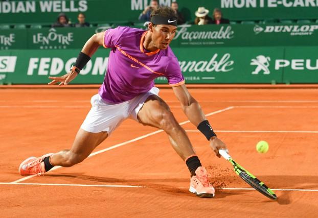 Rafael Nadal a défait Diego Schwartzman 6-4, 6-4,... (Photo Yann Coatsaliou, AFP)