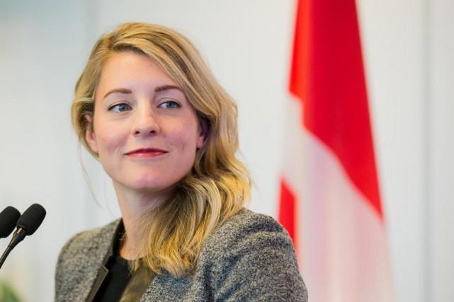 La ministre du Patrimoine, Mélanie Joly... (Archives, La Presse)