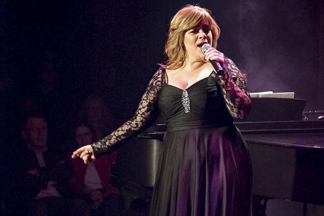 La chanteuseJulie Massicotte... (Archives Le Nouvelliste)