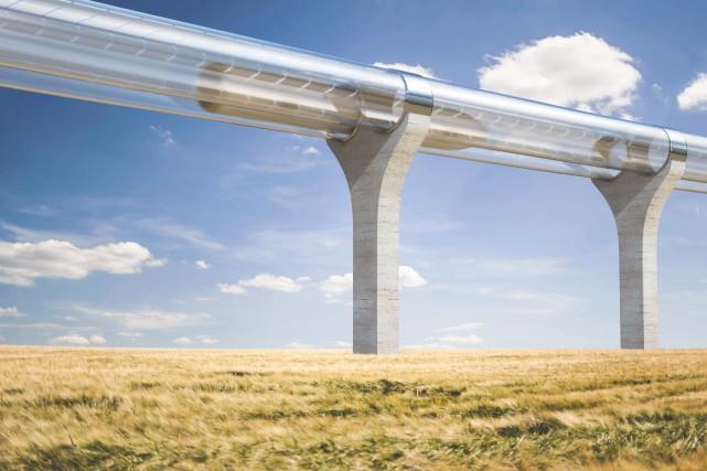 CHRONIQUE /Depuis quelques années au Québec, l'idée d'un monorail... (Photo courtoisie)