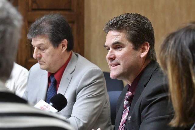 Le conseiller du district des Boisés, Martin Asselin,... (Stéphan Lessard)