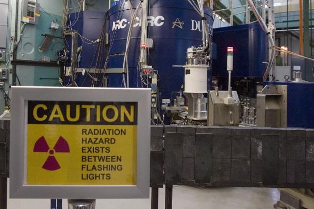 Vue sur le réacteur nucléaire de la centrale... (Archives, La Presse canadienne)