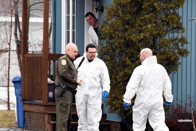 C'est le Service des enquêtes sur les crimes... (Photo Le Quotidien, Rocket Lavoie)