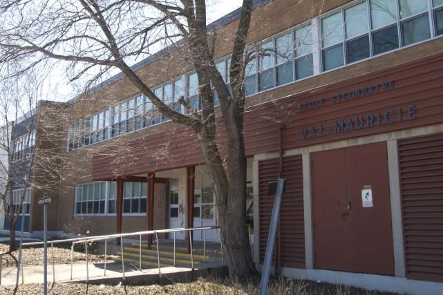 L'école secondaire Val-Mauricie.... (Sylvain Mayer)