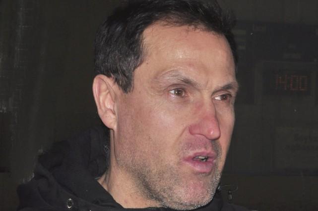 Michel Leblanc aujourd'hui entraîneur des Panthères U13 du... (Gilles Joubert)