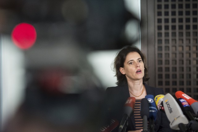 Selon Frauke Koehler, représentante du parquet fédéral allemand,... (AFP, Lino Mirgeler)