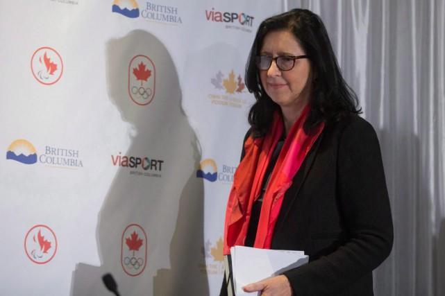 Tricia Smith est devenue présidente par intérim du... (PhotoDarryl Dyck, La Presse Canadienne)