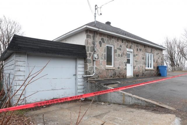 Les résidents de cette maison du secteur Shawinigan-Sud... (Olivier Croteau)