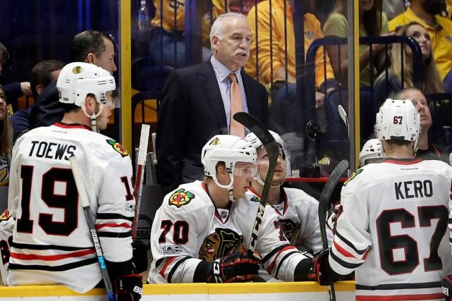 Le directeur général StanBowman a confirmé que l'entraîneur-chef... (Photo Mark Humphrey, ASSOCIATED PRESS)