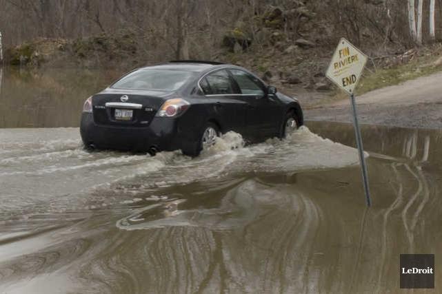 Dame Nature semble vouloir donner un répit aux sinistrés des inondations, au... (MARTIN ROY, LE DROIT)