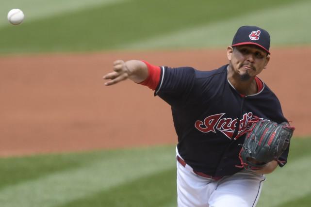 Carlos Carrasco... (Photo David Richard, USA TODAY Sports)