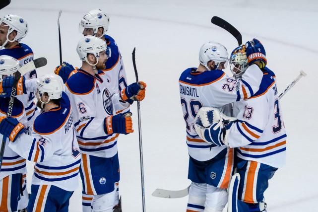 Les Oilers se sont qualifiés en série pour... (Photo Kelley L Cox, USA Today Sports)