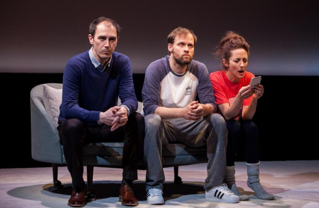 La pièce Baby-Sitter, écrite par Catherine Léger, est... (Photo Magali Cancel, fournie par le Théâtre La Licorne)