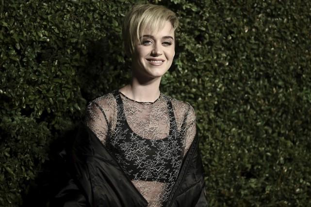 Katy Perry, photographiée le 7 avril... (AP)