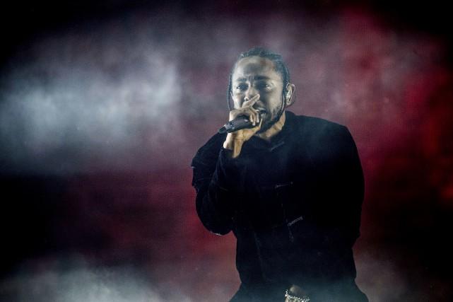 Le nouvel album de Kendrick Lamar (photo) a... (AP, Amy Harris)