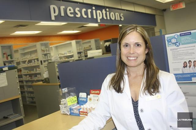 La pharmacienne Stéphanie Moffet :