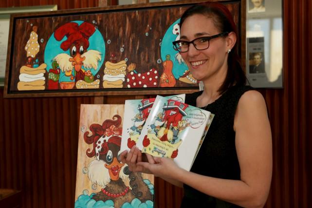 L'artiste multidisciplinaire Jessica Ruel a signé les textes... (Catherine Trudeau)