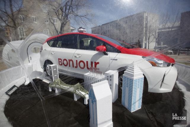 Afin de rendre les taxis montréalais distinctifs et... (La Presse, Ninon Pednault)