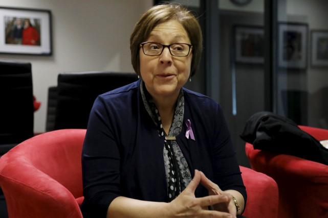 Diane Duval, présidente de l'Ordre des hygiénistes dentaires... (Catherine Trudeau)