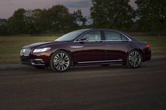 Lincoln Continental 2017... (fournie par Lincoln)