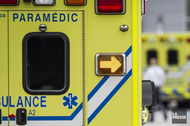 Une collision frontale entre deux véhicules a entrainé la fermeture de... (Photo archives La Presse)