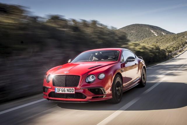 La Continental Supersports, le coupé Bentley le plus... (fournie par Bentley Motors)