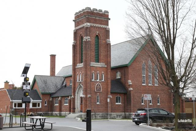 L'église Saint-Georgesituée sur la rue Principale à Granby.... (archives La Voix de l'Est)