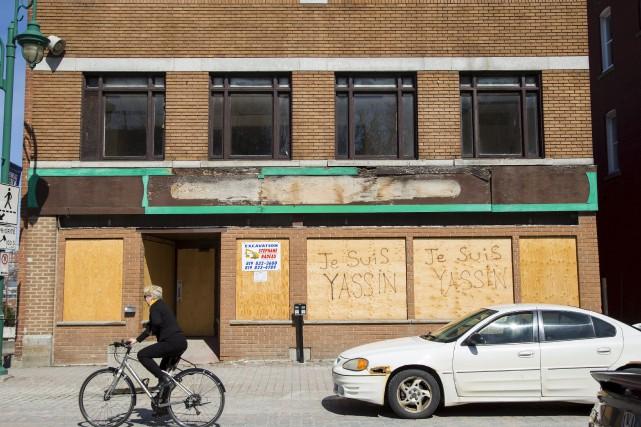 La démolition du Pub irlandais O'Tommy's, qui devait... (Spectre Média, Marie-Lou Béland)