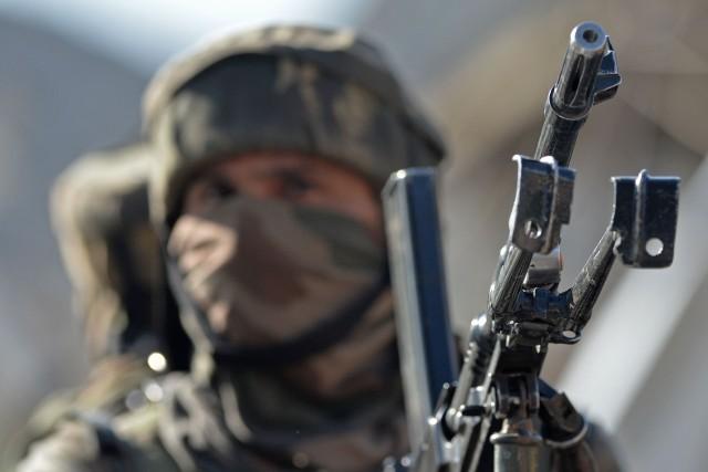 Partie d'une révolte paysanne dans un village du... (Photo Agence France-Presse)