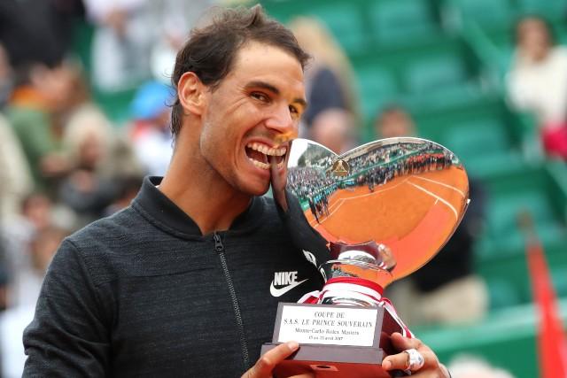 Rafael Nadal a remporté un 10e titre au... (Photo Eric Gaillard, Reuters)
