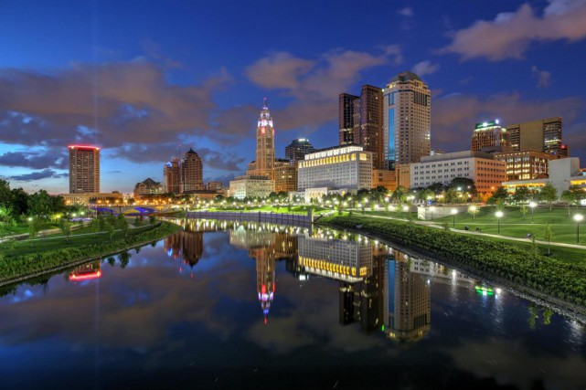 Le parc Scioto Mile... (PHOTO THINKSTOCK)