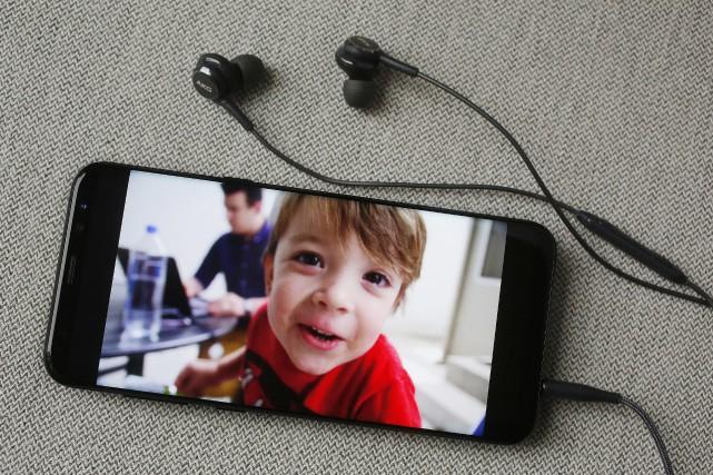 Le lancement du nouveau téléphone Galaxy S8 représente... (AP)