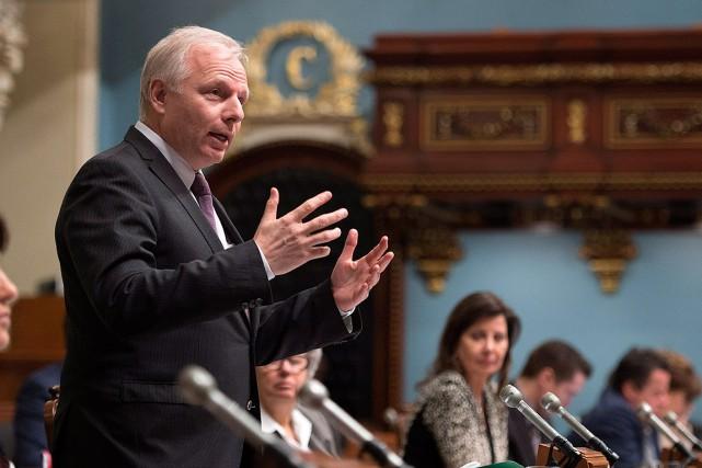 Le chef du Parti québécois, Jean-François Lisée.... (Jacques Boissinot, archives PC)