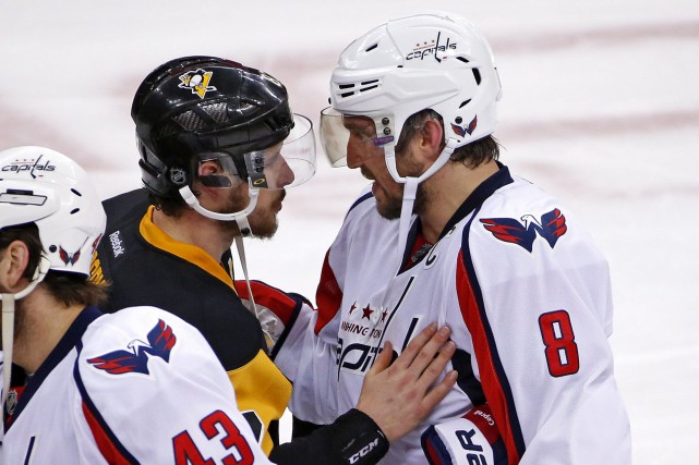 Sidney Crosby et Alexander Ovechkin croiseront le fer... (Photo Gene J. Puskar, archives AP)