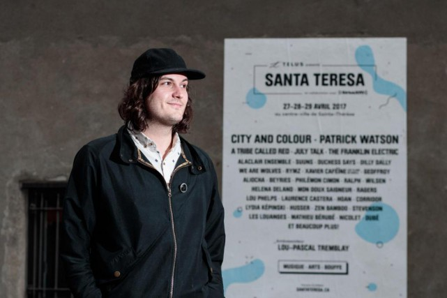 Julien Aidelbaum, fondateur du festival Santa Teresa, estime... (PHOTO HUGO-SEBASTIEN AUBERT, LA PRESSE)