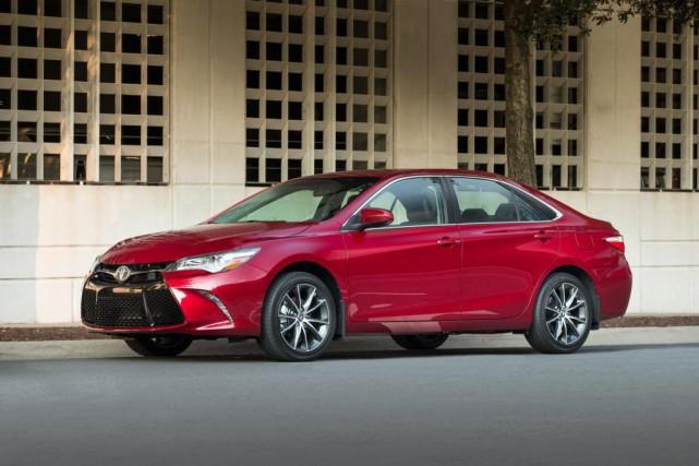 La Toyota Camry... (Photo fournie par Toyota)