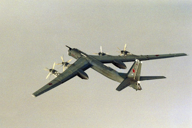 Des bombardiers russes Tupolev Tu-95 ont été repérés... (Photo archives REUTERS)