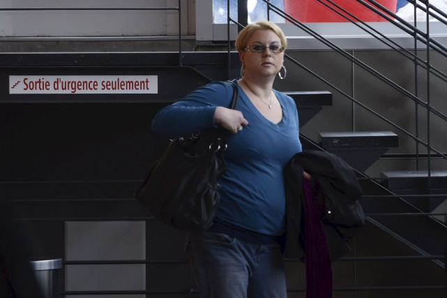 Vicky Légaré devra purger 12 mois de prison... (François Gervais, Le Nouvelliste)