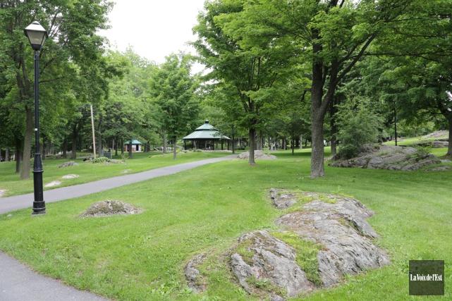 Le parc Victoria à Granby.... (archives La Voix de l'Est)