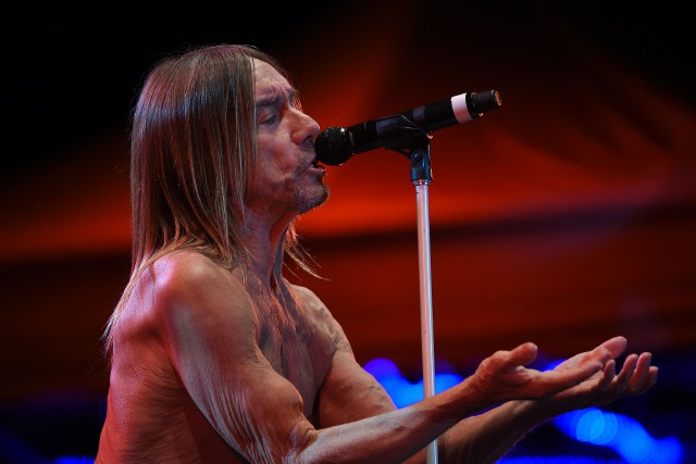 Iggy Pop... (Archives, AFP)
