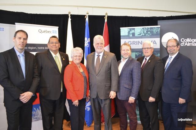 Stéphane Bergeron, directeur régional de Développement économique Canada,... (Photo Le Quotidien, Louis Potvin)