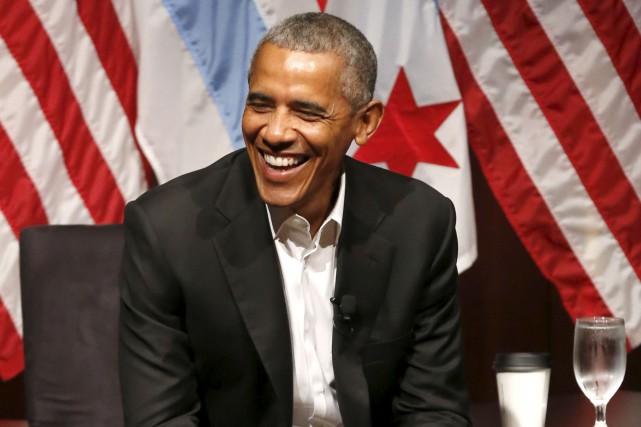 Après des vacances de trois mois, l'ancien président... (AP, Charles Rex Arbogast)
