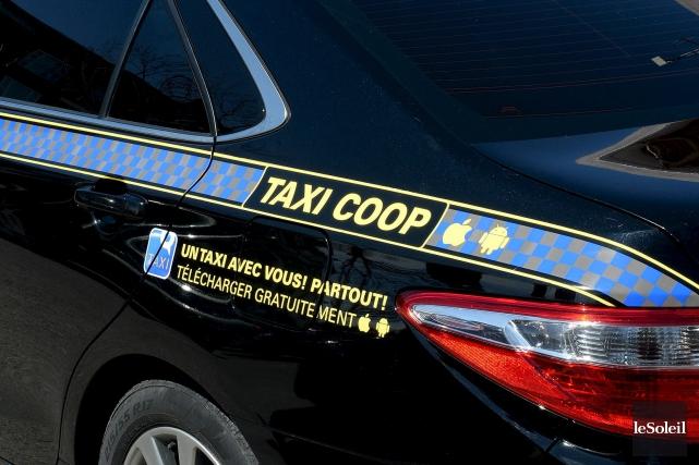 Parmi les scénarios proposés par Taxi Coop, celui... (Le Soleil, Erick Labbé)