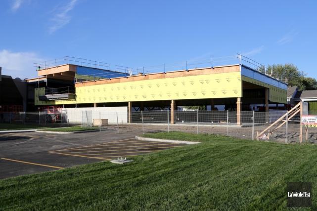 L'école Saint-Vincent de Saint-Césaire compte parmi les établissements... (archives La Voix de l'Est)